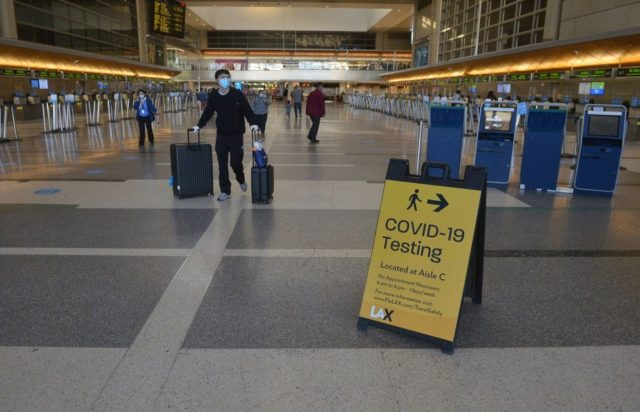 All Britons travelling to USA from Monday must have negative Covid test