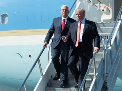 President Donald J. Trump and Vice President Mike Pence | August 22, 2017 (Official White House Photo by Andrea Hanks)