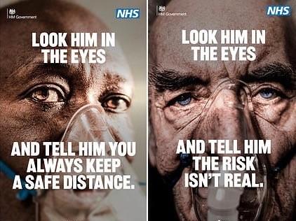 NHS Lockdown Advert