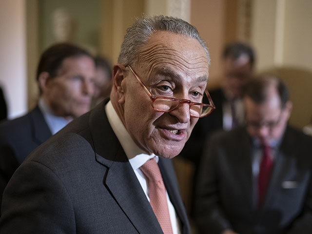 Schumer Blasts 'Racist' Voter Law, Invites MLB All-Star Game to New York