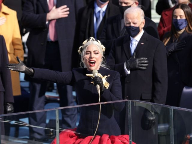 WATCH: Lady Gaga Sings Nat'l Anthem at Biden Inauguration, No One Kneels
