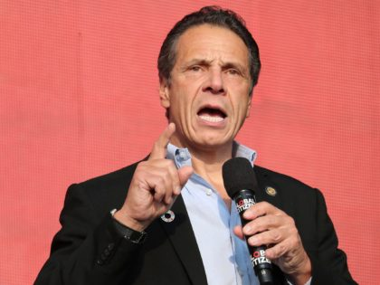 Photo by: John Nacion/STAR MAX/IPx 2020 12/21/20 NY Governor Andrew Cuomo, calls for bans on UK flights amid surge in virus variant in London. STAR MAX File Photo: 9/29/18 Andrew Cuomo at the 2018 Global Citizen Festival: Be The Generation in Central Park in New York City.