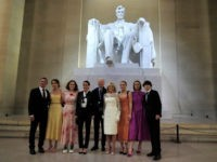 Biden Family Ignores Mask Mandate for Photo Op at Lincoln Memorial