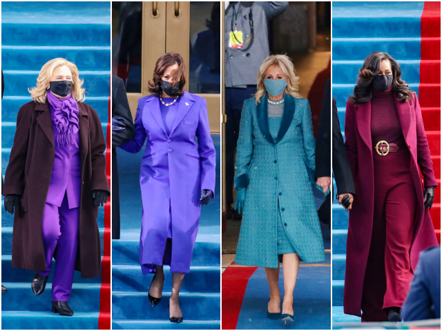 Fashion Notes: Joe Biden's Inauguration Brings Clashing Colors, Jumbled Style