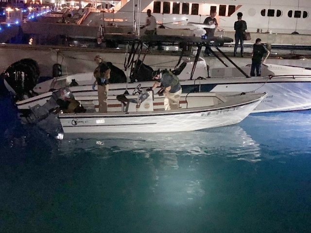 AMO seizes cash from a vessel in the Caribbean. (File Photo: CBP Air and Marine Operations)