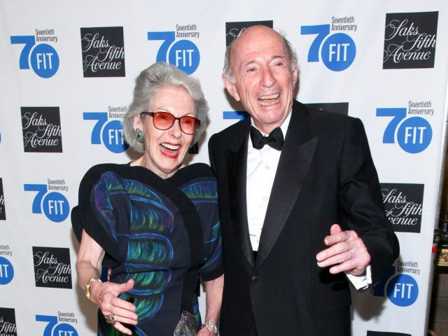 Barbara Tober, left, and Donald Tober, right, attend the Fashion Institute of Technology's Annual Gala at Cipriani 42nd Street on Monday, June 15, 2015, in New York. (Photo by Andy Kropa/Invision/AP)