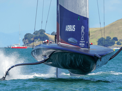 WATCH: U.S. Yacht Goes Airborne, Capsizes During America's Cup Challenger Race