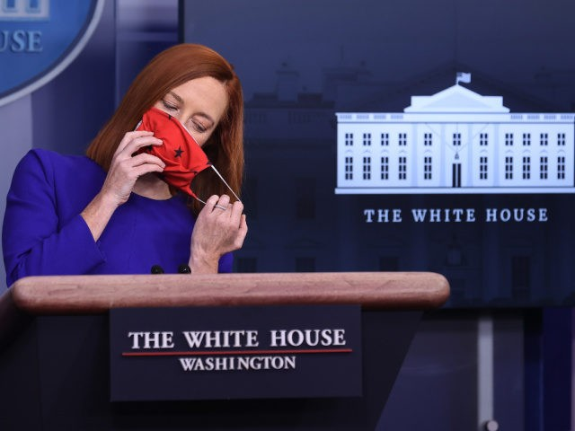 Jen Psaki Vows to Combat 'Misinformation' with White House Press Briefings