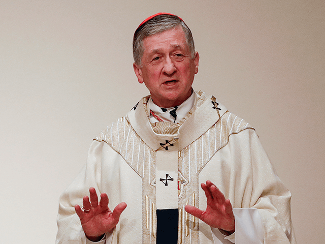 Cardinal Blase J. Cupich presides over a Simbang Gabi Mass at the Old St. Mary's Catholic Church in Chicago, Illinois, on December 20, 2018. - US bishops preparing for a meeting to address the sexual abuse scandal roiling the Catholic Church suddenly find themselves in a high-stakes credibility test following …