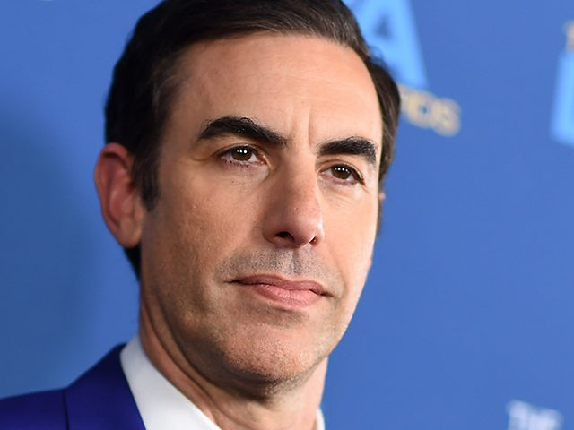 Director and actor Sacha Baron Cohen arrives for the 71st Annual Directors Guild Of America (DGA) Awards at the Ray Dolby Ballroom in Hollywood on February 2, 2019. (Photo by Valerie MACON / AFP) (Photo credit should read VALERIE MACON/AFP via Getty Images)