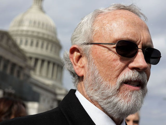"WASHINGTON, DC - FEBRUARY 13: U.S. Rep. Dan Newhouse (R-WA) speaks during a news conference in front of the U.S. Capitol February 13, 2019 in Washington, DC. Deferred Action for Childhood Arrivals (DACA) recipients from around the country joined the news conference to discuss ""immigration solutions in Congress"" and ""pairing …"