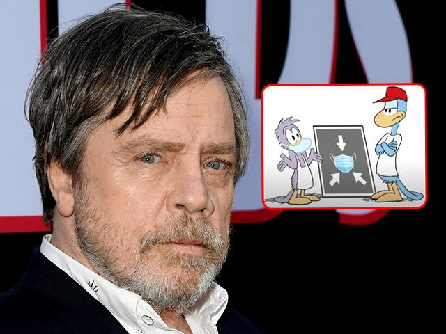 Mark Hamill Lends Voice to 'Green Eggs & Ham'-Style 'Wear a Mask' Cartoon, Plugs Biden Mandate