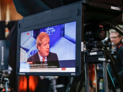 MAIDSTONE - ENGLAND - DECEMBER 06: UK Prime Minister Boris Johnson speaking during the BBC Prime Ministerial Debate in Maidstone Studios on December 6, 2019 in Kent, England. This is the last time the two leaders will go head-to-head in a debate during the election campaign. (Photo by Hollie Adams/Getty …
