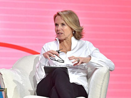 LOS ANGELES, CALIFORNIA - FEBRUARY 11: Katie Couric speaks onstage during The 2020 MAKERS Conference on February 11, 2020 in Los Angeles, California. (Photo by Emma McIntyre/Getty Images for MAKERS)