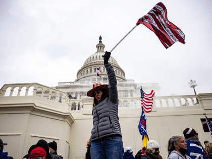 Pro-Trump supporters storm the U.S. Capitol following a rally with President Donald Trump on January 6, 2021 in Washington, DC. Trump supporters gathered in the nation's capital today to protest the ratification of President-elect Joe Biden's Electoral College victory over President Trump in the 2020 election. (Photo by Samuel Corum/Getty …