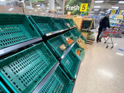 Empty Supermarket Shelves Caused by Coronavirus Lockdown, Not Brexit: UK Govt