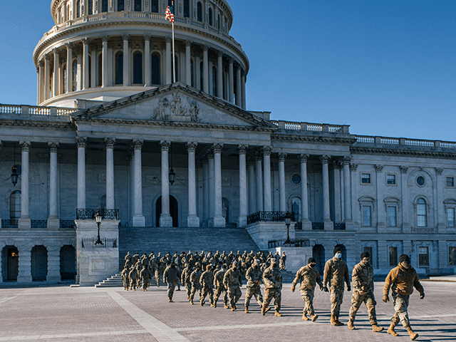 Sen. Tom Cotton: Its Time to Send Home the Troops Stationed in D.C.