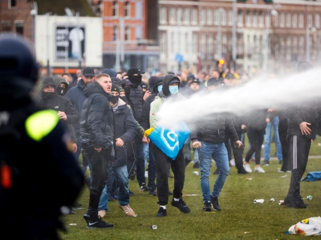 Anti-Lockdown Riots Erupt as the Netherlands Imposes COVID Curfew