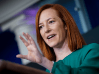 White House Press Secretary Jen Psaki Goes Maskless During Briefing