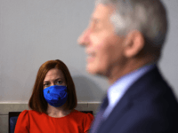 Dr. Anthony Fauci Does Not Wear Mask for White House Press Briefing