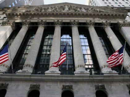 NEW YORK, NEW YORK - JANUARY 28: The New York Stock Exchange (NYSE) stands in the Financial District in Manhattan on January 28, 2021 in New York City. Markets continue a volatile streak with the Dow Jones Industrial Average rising over 500 points in morning trading following yesterdays losses. Shares …