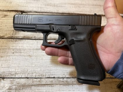 The Glock 17, now in Gen 5, is a classic combination of Glock reliability, durability, and performance, all rolled into one duty-sized package.