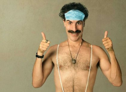 "Borat star Sacha Baron Cohen admitted the purpose of his film's sequel, which was released shortly before the 2020 presidential election, was to ""deliver a message"" on the ""dangers of voting for Trump."""