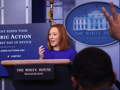 Unity: Jen Psaki Says Biden Will Let Congress Decide on Impeachment Trial