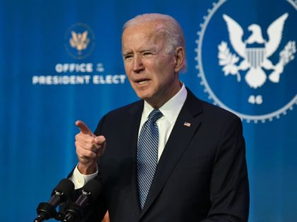 Joe Biden finger pointing (Jim Watson / Getty)