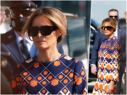 Fashion Notes: Melania Trump Channels Poolside Tranquility in Gucci Kaftan