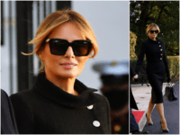 Fashion Notes: Melania Trump Waves Au Revoir to White House in Classic Chanel