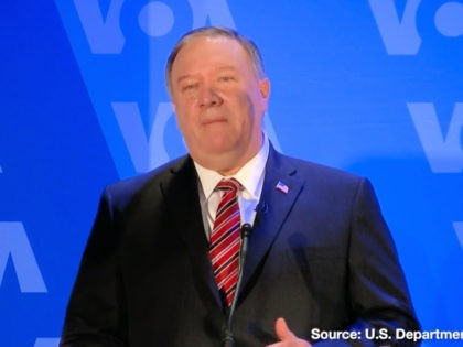 Mike Pompeo Speaks to Voice of America