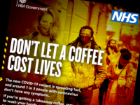 UK Govt Shock Ad Campaign Claims Buying a Coffee, Seeing Friends 'Cost Lives'