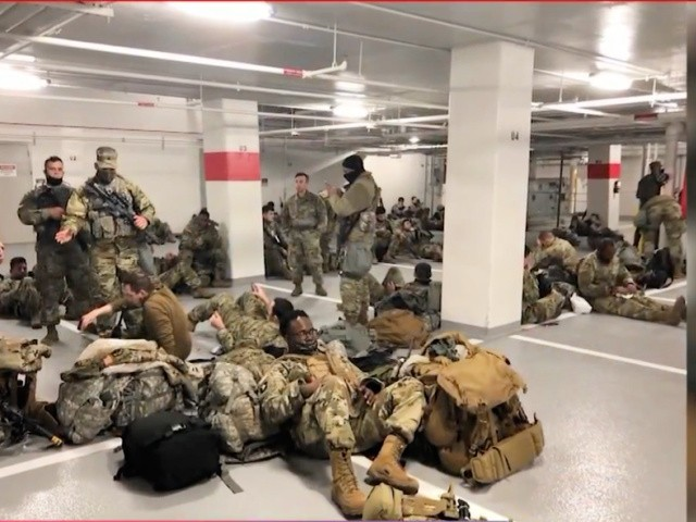 Indiana National Guard Troops to remain in DC through March