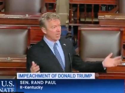 Rand Paul Calls Impeachment Unconstitutional