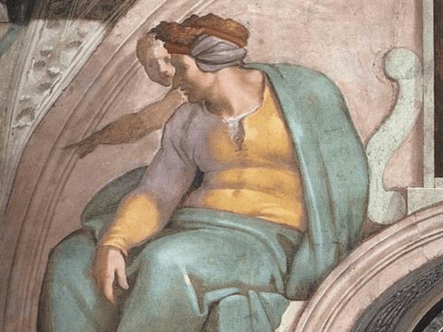 Michaelangelo's Uzziah (Wikimedia Commons)