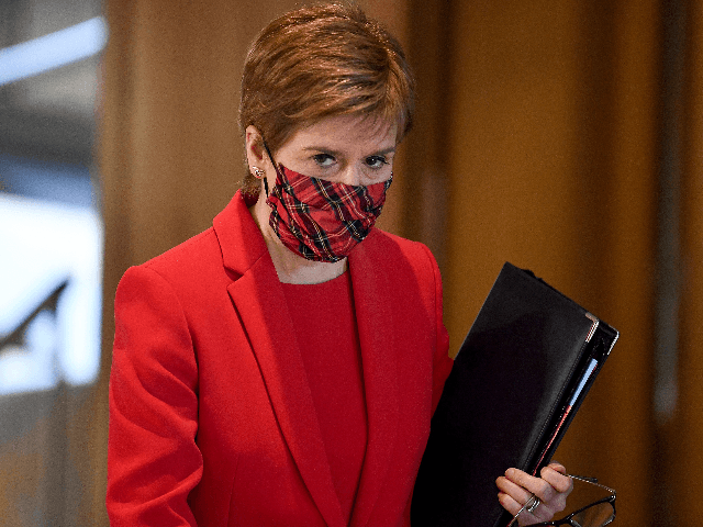 Left-Separatist Nicola Sturgeon Puts Scotland in Full Lockdown