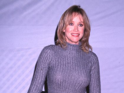 11/28/99. Hollywood, CA. Tanya Roberts attending the Hollywood Christmas Parade. Photo by Brenda Chase Online USA Inc.