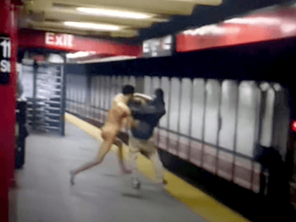 VIDEO: Naked Man Dies After Allegedly Pushing Stranger onto NYC Subway Tracks