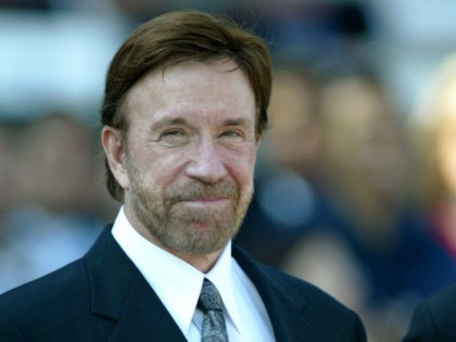 ARCADIA, CA - OCTOBER 25: Actor Chuck Norris attends the 2003 Breeders' Cup World Thoroughbred Championships hosted by the Oak Tree Racing Association October 25, 2003 at Santa Anita Park in Arcadia, California. (Photo by Jeff Golden/Getty Images)