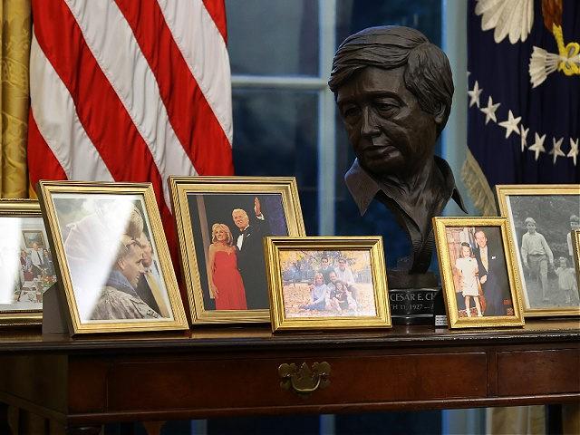 Joe Biden Removes Winston Churchill Bust, Andrew Jackson Painting from Oval Office
