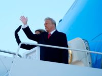 Donald Trump Leaves Washington, DC: 'Goodbye. I Love You. We'll Be Back in Some Form'