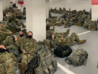 Geneva Conventions Forbid Forcing Soldiers to Sleep In Parking Garage