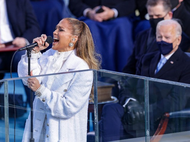 Video: Jennifer Lopez Inserts Spanish Into 'America the Beautiful' at Biden Inauguration