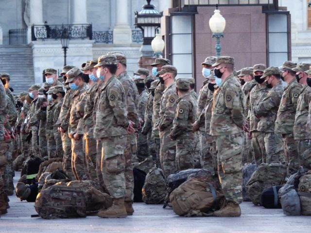 FBI Vetting National Guard Assigned to Secure D.C., Biden Inauguration
