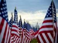 Flagging Interest: 200,000 Flags Replace People on National Mall for Biden Inauguration