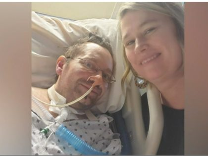 A man who spent more than two months in the hospital with the coronavirus says it was his wife's voice that got him through being in a coma and into his recovery.