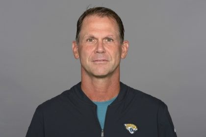 This is a 2020 file photo showing Trent Baalke of the Jacksonville Jaguars NFL football team. The Jacksonville Jaguars formally named Baalke general manager on Thursday, Jan. 21, 2021. (AP Photo)
