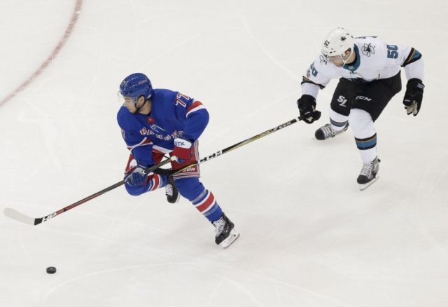 Tony DeAngelo has played his last game for the Rangers
