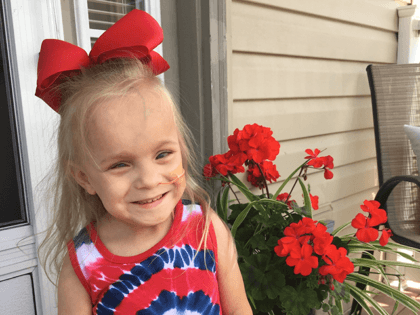 Pacific, MO McDonald's Shift Leader, Joshua Kulage and his wife, Desiree are seeking a kidney for their daughter, 5 year old Kayleigh. Kayleigh was born severely premature and suffers from lasting birth defects.